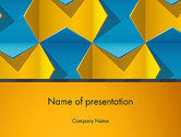Abstract/Textures: Folded Paper Edges Abstract PowerPoint Template #14056
