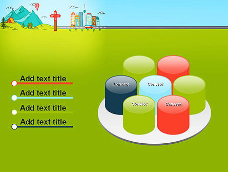 Traveling the Countryside PowerPoint Template Slide 12