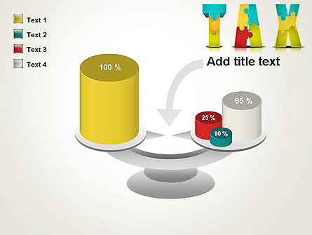 Tax Puzzle PowerPoint Template Slide 10