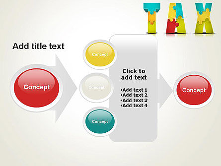 Tax Puzzle PowerPoint Template Slide 17