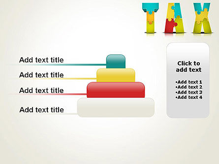 Tax Puzzle PowerPoint Template Slide 8