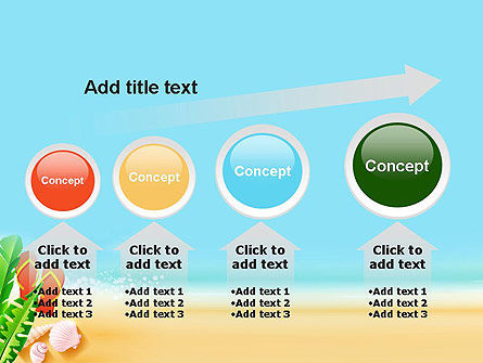 Sunny Beach PowerPoint Template Slide 13
