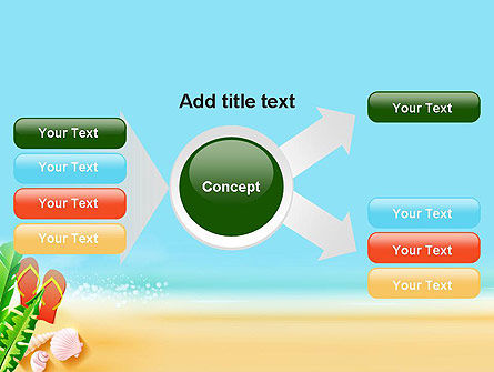 Sunny Beach PowerPoint Template Slide 14
