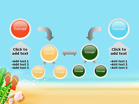 Sunny Beach PowerPoint Template Slide 19