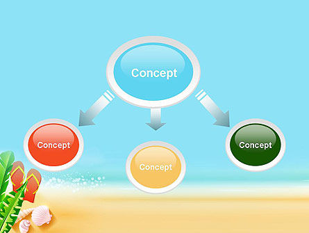 Sunny Beach PowerPoint Template, Slide 4, 14059, Holiday/Special Occasion — PoweredTemplate.com