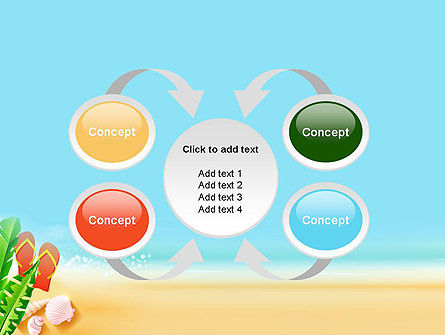 Sunny Beach PowerPoint Template Slide 6