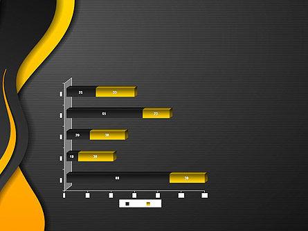 Orange Flowing Waves PowerPoint Template Slide 11
