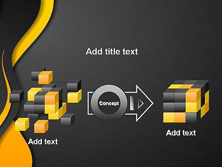 Orange Flowing Waves PowerPoint Template Slide 17