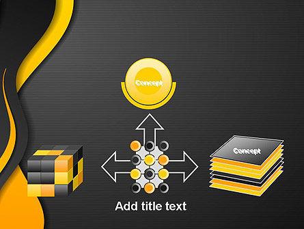 Orange Flowing Waves PowerPoint Template Slide 19