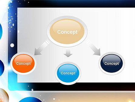 Conceptual Social Networking PowerPoint Template, Slide 4, 14064, Careers/Industry — PoweredTemplate.com