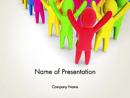 Welcome PowerPoint Template, 14065, Business Concepts — PoweredTemplate.com