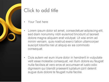 Orange Circles Abstract PowerPoint Template, Slide 3, 14070, Abstract/Textures — PoweredTemplate.com