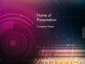 Technology and Science: Future Technology Abstract PowerPoint Template #14074