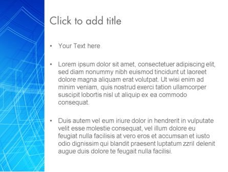 Wireframe Object PowerPoint Template, Slide 3, 14075, Abstract/Textures — PoweredTemplate.com