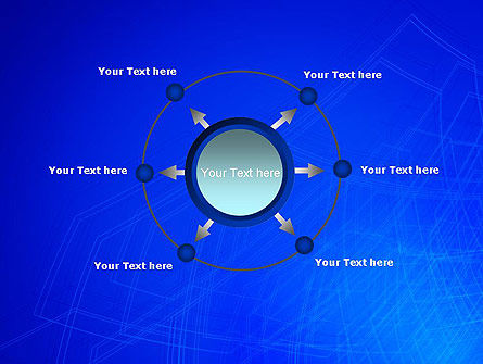 Wireframe Object PowerPoint Template Slide 7