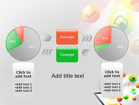 Mobile Application Design PowerPoint Template Slide 16