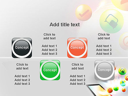 Mobile Application Design PowerPoint Template Slide 18