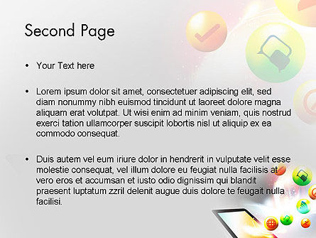 Mobile Application Design PowerPoint Template Slide 2