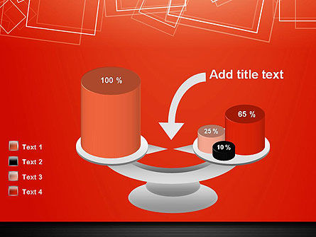Thin Squares Background PowerPoint Template Slide 10
