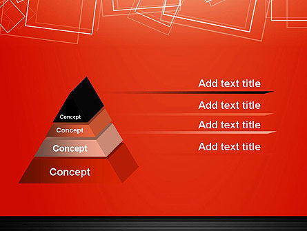 Thin Squares Background PowerPoint Template Slide 12