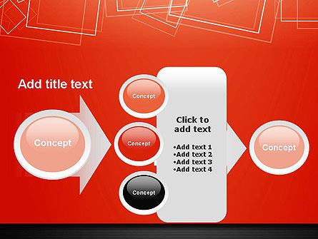 Thin Squares Background PowerPoint Template Slide 17