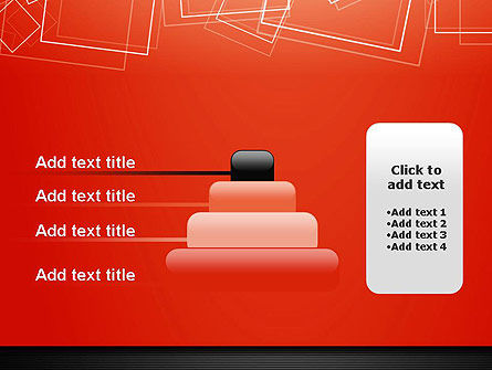 Thin Squares Background PowerPoint Template Slide 8