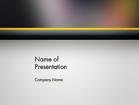 Abstract/Textures: Blurred Surface PowerPoint Template #14078