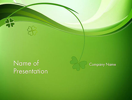 Holiday/Special Occasion: Quatrefoil PowerPoint Template #14079