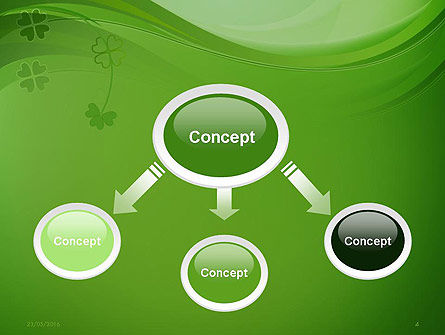 Quatrefoil PowerPoint Template Slide 4