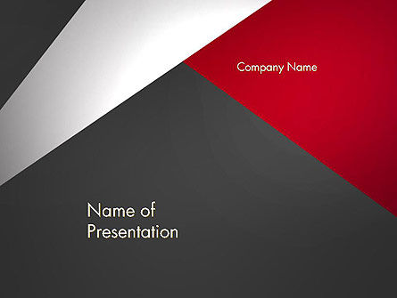 Abstract Cut Out PowerPoint Template, 14081, Business — PoweredTemplate.com