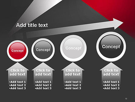 Abstract Cut Out PowerPoint Template Slide 13