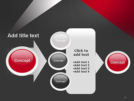 Abstract Cut Out PowerPoint Template Slide 17