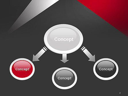 Abstract Cut Out PowerPoint Template Slide 4