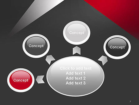Abstract Cut Out PowerPoint Template Slide 7