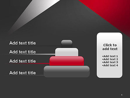 Abstract Cut Out PowerPoint Template Slide 8