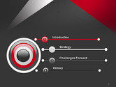 Abstract Cut Out PowerPoint Template#3
