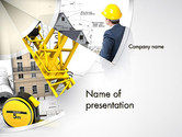 Construction: Plantilla de PowerPoint - arquitecto fiable #14083
