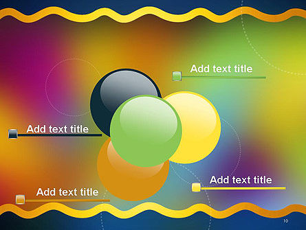 Cheerful Positive Abstract PowerPoint Template Slide 10