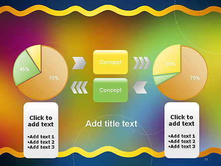 Cheerful Positive Abstract PowerPoint Template Slide 11