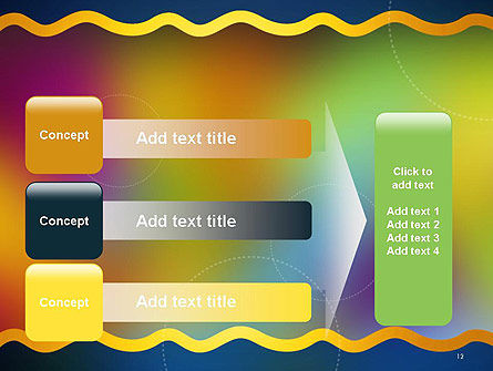 Cheerful Positive Abstract PowerPoint Template Slide 12