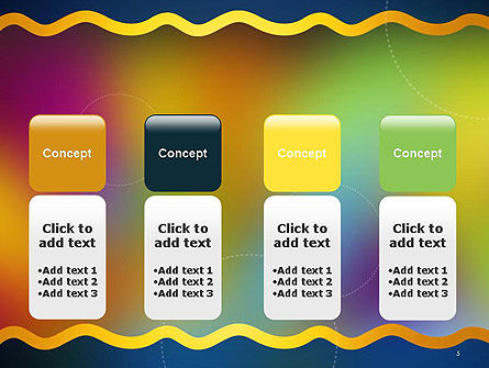 Cheerful Positive Abstract PowerPoint Template Slide 5