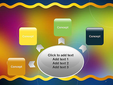 Cheerful Positive Abstract PowerPoint Template Slide 7