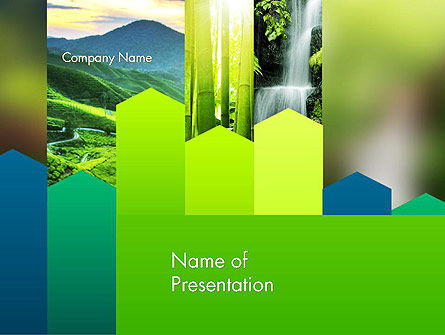 Nature and Environment PowerPoint Template, 14090, Nature & Environment — PoweredTemplate.com