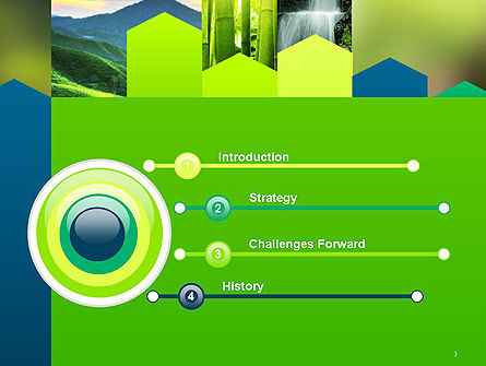 Nature and Environment PowerPoint Template, Slide 3, 14090, Nature & Environment — PoweredTemplate.com