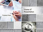 Business: Modelo do PowerPoint - sucesso da solução da equipe #14092