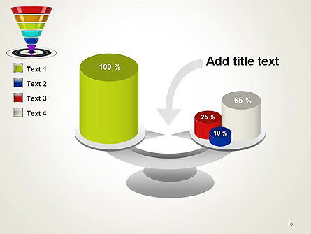 Conversion Funnel PowerPoint Template Slide 10
