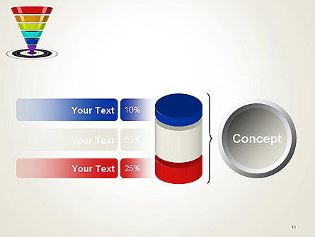 Conversion Funnel PowerPoint Template Slide 11