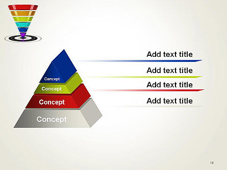 Conversion Funnel PowerPoint Template Slide 12