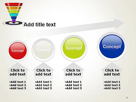 Conversion Funnel PowerPoint Template Slide 13