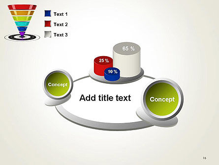 Conversion Funnel PowerPoint Template Slide 16
